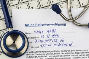Patientenverfügung Formular kostenlos